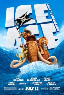 Ice Age 4 movie poster