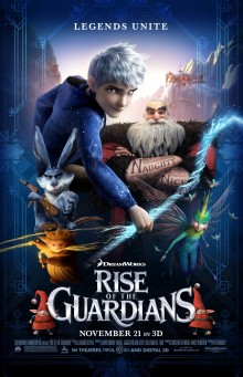 Rise of the Guardians movie poster